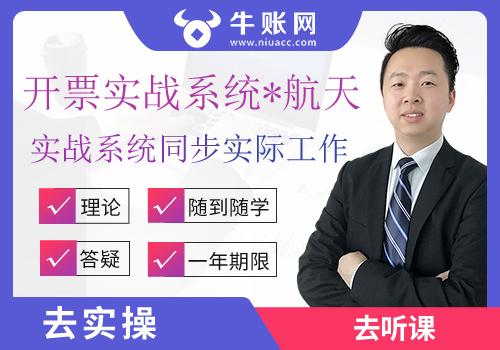 增值税税控开票系统(航天信息版)(高清视频+实训系统)
