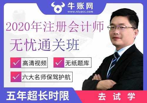 2020年注册会计师无忧通关班(全六科)
