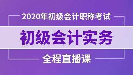 2020年初级会计实务精讲班第三讲