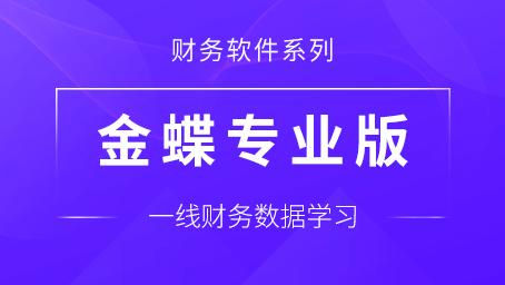 金蝶专业版财务软件实战训练课程