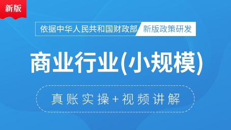 小规模商业会计真账实操(5-6月)
